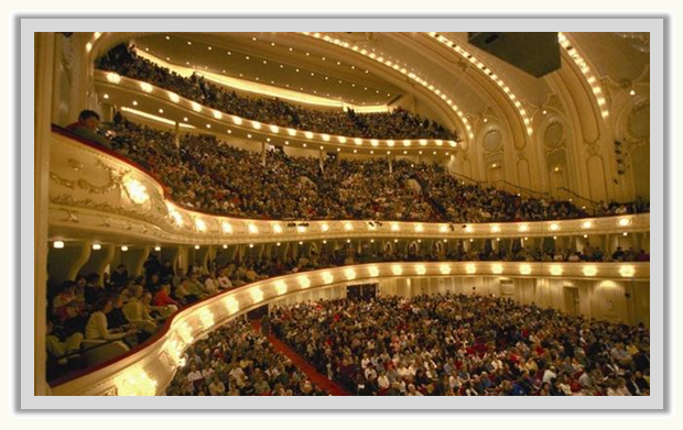 2522-seat Chicago Orchestra Hall Theater