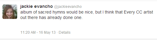 Jackie speaks again