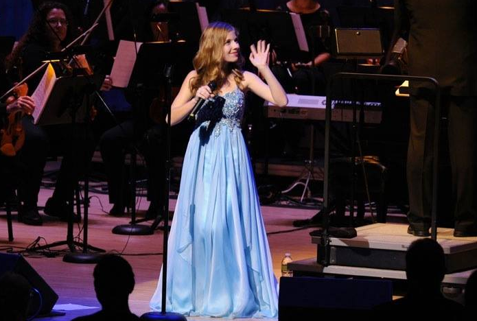 Evancho blue dress 2